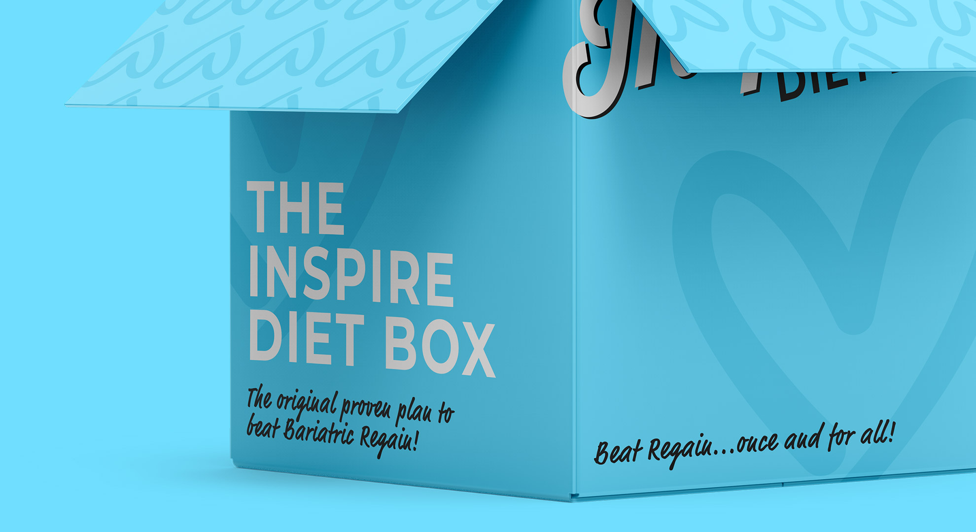 Rebranding & landing page for the Inspire Diet